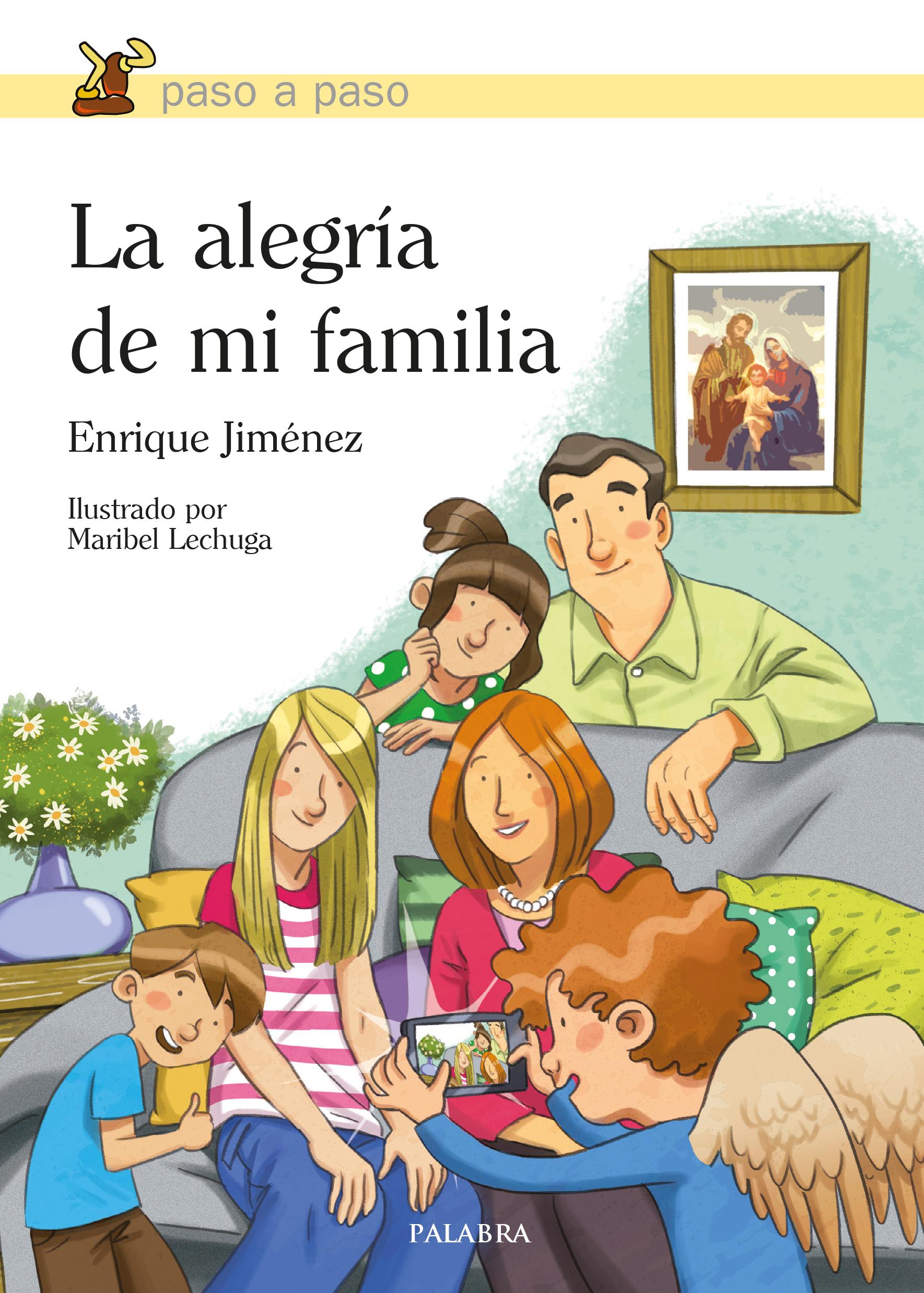 fa18bb8dc54 Libro  La alegría de mi familia de Enrique Jiménez Lasanta